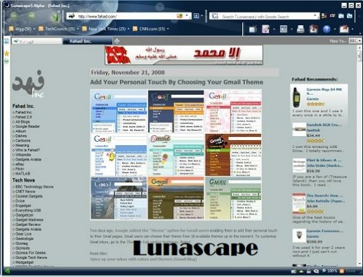 Lunascape Browser