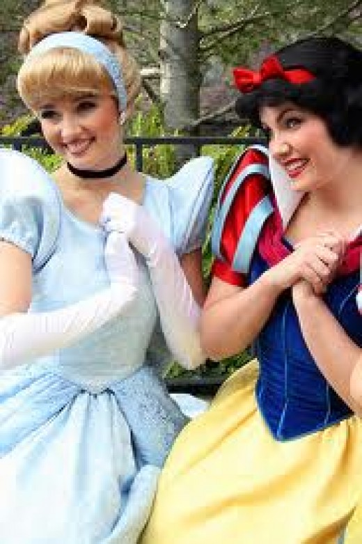 Cinderella and Snow White