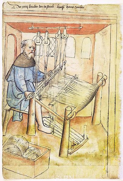 Weaver, Nürnberg, c. 1425