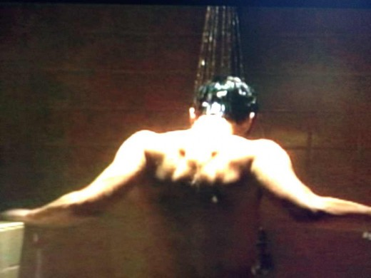 Gratuitous shower scene!