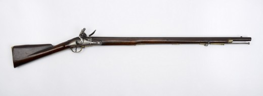 A musket like those used by the redcoats