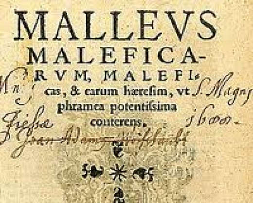 "The Malleus Maleficarum - commonly referred to as the ""Hammer of Witches"""