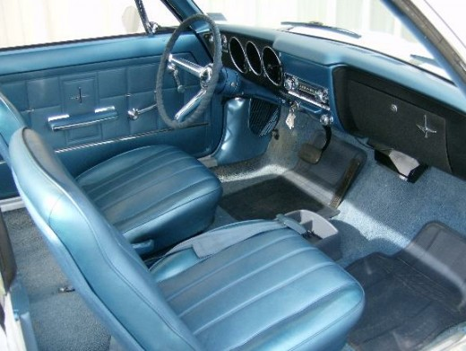 Typical 67-69 interior