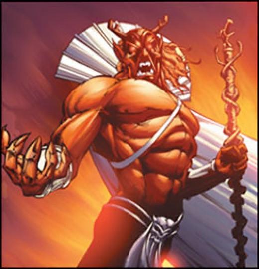 Trigon - Evil Nasty Demon Megalomaniac
