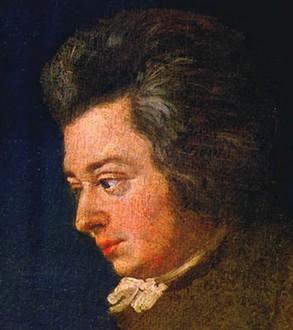 Mozart by Joseph Lange 1780