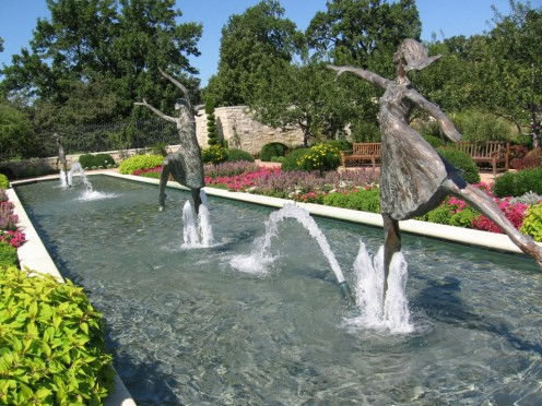Kauffman Gardens Fountain