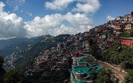 The city of Shimla
