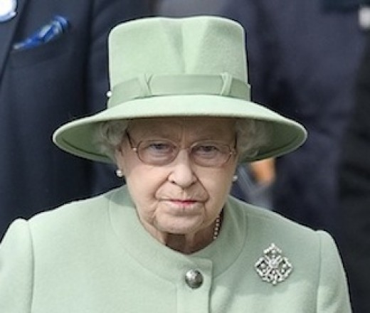 Queen Elizabeth ll in later years