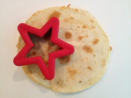 Use a large star-shaped cookie cutter
