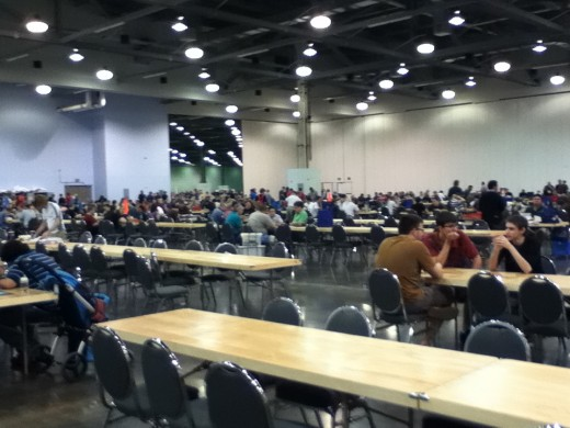 The Board Room At Origins Game Fair 2012