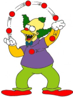 Who doesn't love Krusty?