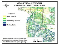 Potential for Commercial Viticulture in Calumet County, WI