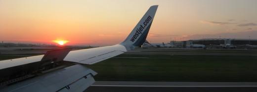 West Jet Seat Sale Sunset