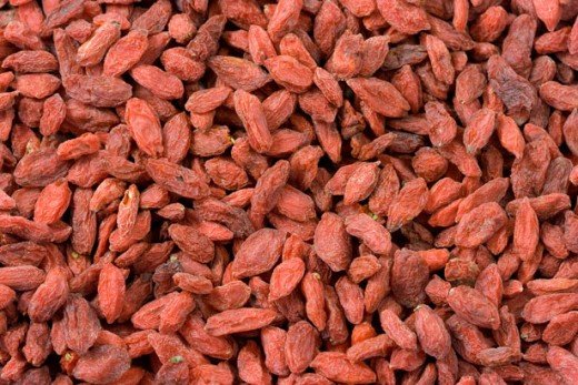 Goji Berries can be a wonderful snack and will supply your body with important nutrients.