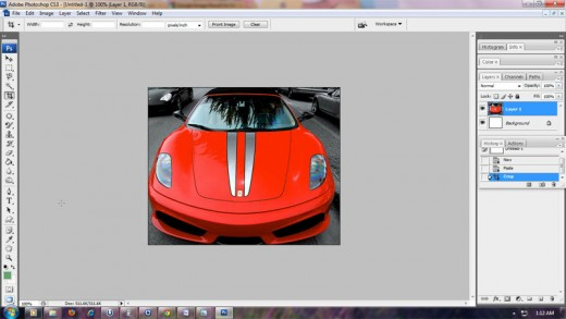 My Selected Photo to Change Color in Photoshop