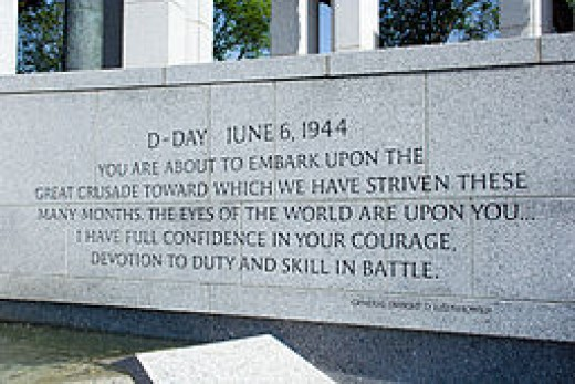 Quotation by Dwight D Eisenhower on the eve of battle