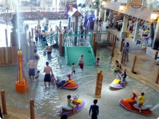 Great wolf lodge indoor water park, WA