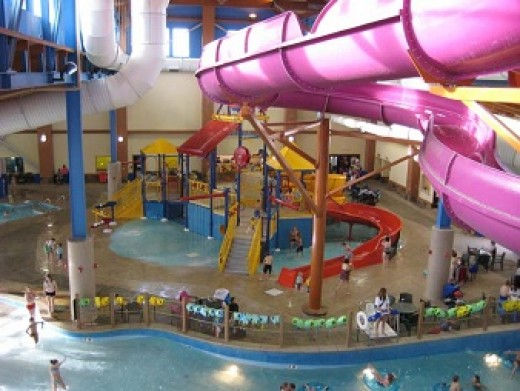 The reef water park, MT