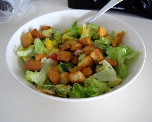 Salads are one of my favorite ways to enjoy fresh vegetables.