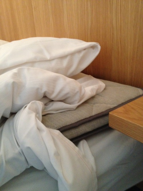 The bed mattresses should also have a removable cover!