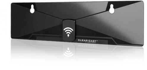 The patent-pending Clear-Cast X1 Digital Antenna is a high-tech money saver.