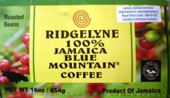 A Review of Simple Industries Inc., On Line Distributor of 100% Certified Jamaica Blue Mountain Coffee Ridgelyne Brand
