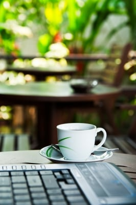Caffeine can temporarily re-energize you while you work.