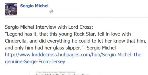 A note from our interview... on his FB account