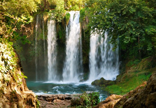 Duden Waterfall - Antalya