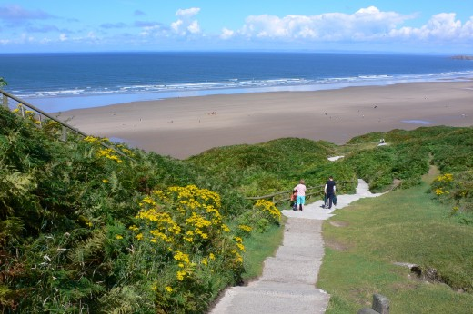 Rhossili Beach Gower Peninsula