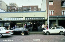 The first Starbucks-1971