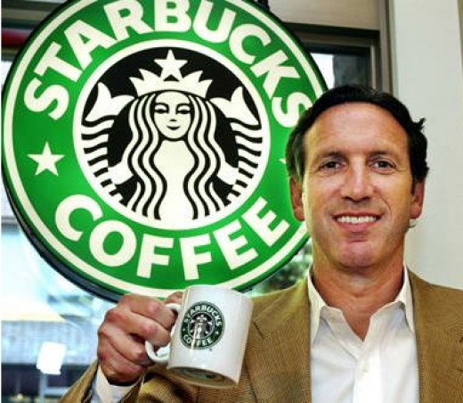 Howard Schultz and his Starbucks