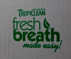 Tropiclean Fresh Breath Dental Care Products for Dogs: A Review