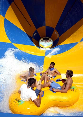 Six flags hurricane harbor,Santa Clarita, California