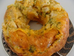 Cooking With Kids:  Easy, Cheesy Vegetable Bread Recipe