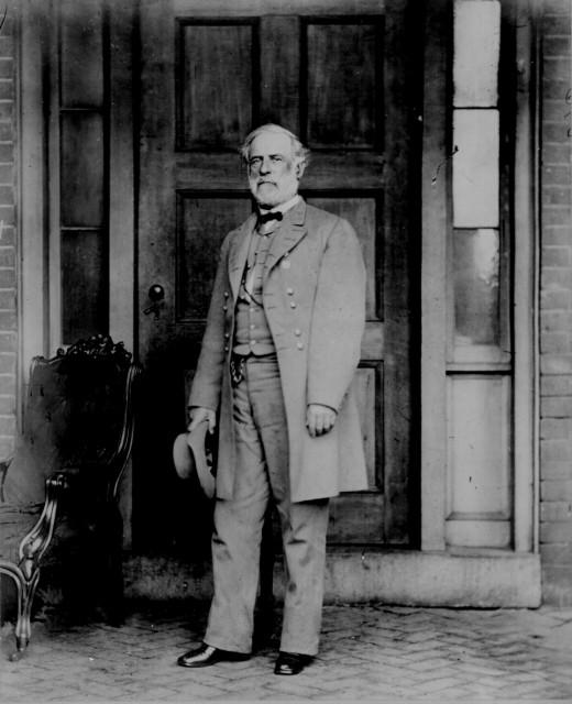 Gen. Robert E. Lee, April 1865. Photographed by Mathew B. Brady