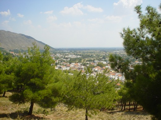 View of Xanthi