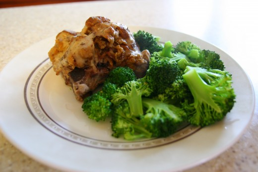 Pork chops with stuffing is a simple pork chop recipe, perfect for weeknights.