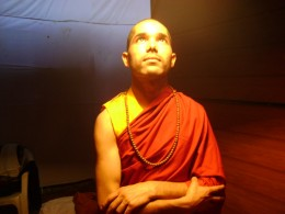 What does a Buddhist monk want other than peace and compassion.