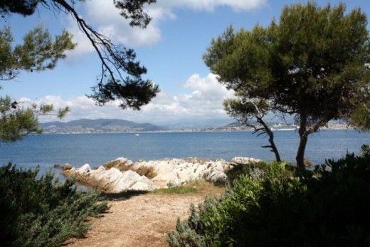 Cannes from St. Honorat