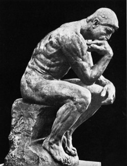 The Thinker  - Auguste Rodin