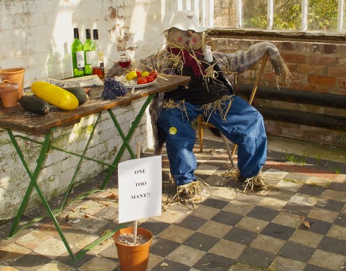 Drunken scarecrow.