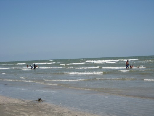 East Beach, Galveston Texas