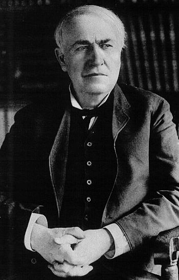 Thomas Alva Edison, the Wizard of Menlo Park