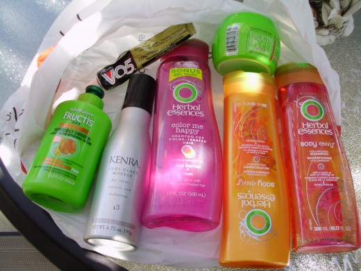 image of products I used before Wen