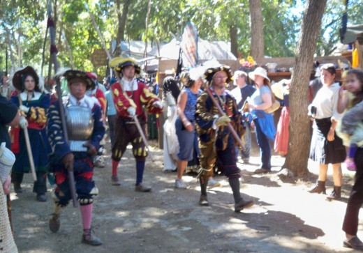 Renaissance Faire - Royal Guards