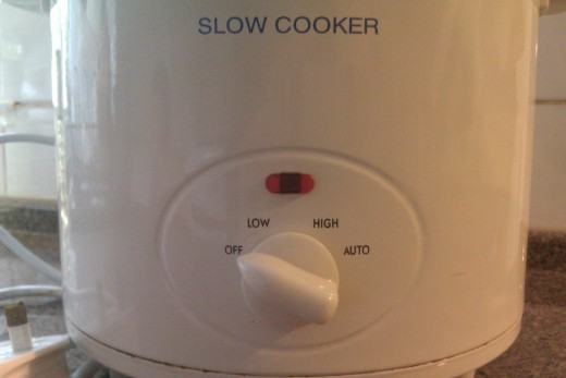 Slow cooker settings