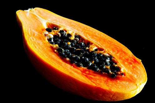 Papaya (halved)
