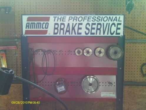 Do It Yourself!  Brake job.