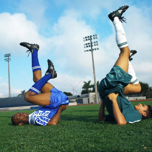 Team sports like soccer help keep you dedicated and builds friendships